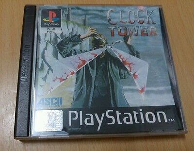 Clock Tower Pal España completo Playstation ps1 psone ps2 ps3