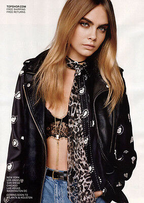 Cara Delevingne-72 ads & clippings of Beautiful British Supermodel & Actress