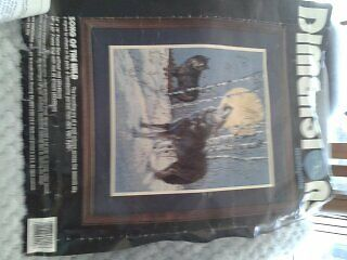 Song of the wild.  Dimensions needlepoint kit