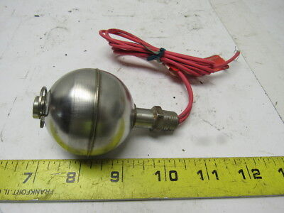 """GEMS 01950 Single Station w/1/4"""" NPT Mounting Level Switch Stainless Steel"""