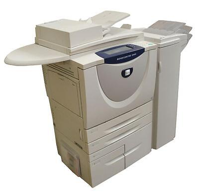 Xerox Workcentre 5655 Black & White Multifunction Printer / Copier - Sold As Is