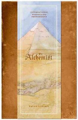 The Alchemist by Paulo Coelho (English) Hardcover Book Free Shipping!