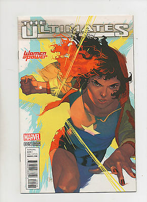 The Ultimates #5 - Women Of Power Variant Cover- (Grade 9.2) 2016