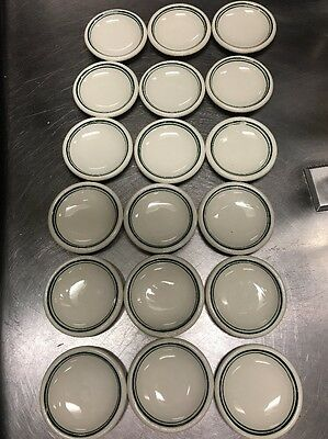 Small RESTAURANT WARE DISHES x 18 Carr & Buffalo China • Side Dish/ Butter Pats