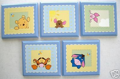 Soft Fuzzy Winnie The Pooh Peek  A Boo    Wall Plaque's