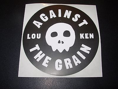 AGAINST THE GRAIN BREWERY official Circle LOGO STICKER decal craft beer brewery