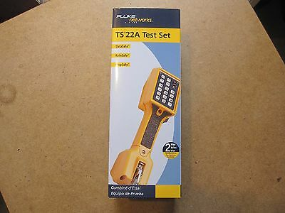 """New"" Fluke Networks 22801009 TS22A Test Set  Free Shipping!"