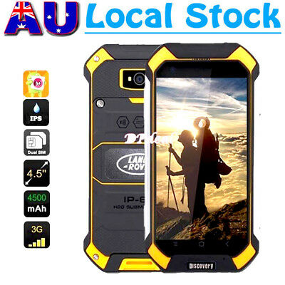 4.5'' Discovery V19 3G Rugged Android Smartphone Unlocked Quad-Core Mobile Phone
