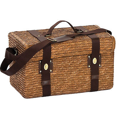 Picnic Plus Woodstock 2 Person Picnic Basket - Fern Outdoor Accessorie NEW
