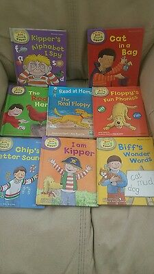 8 X Oxford Books Read With Biff Chip And Kipper