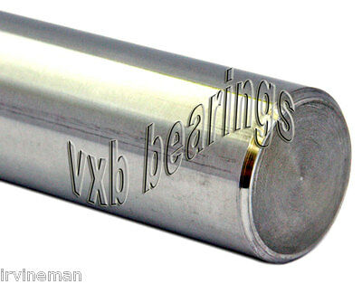 """Lot of 4 Dia 20mm Shaft 30"""" inch Long Hardened Rod Linear Motion CNC Steel Guide"""
