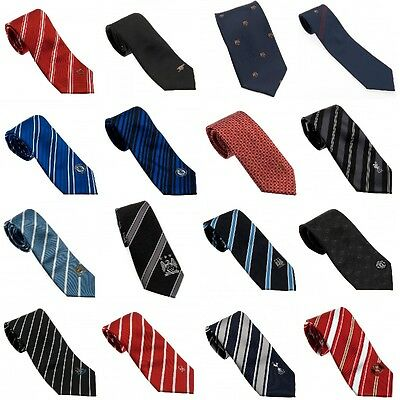 OFFICIAL FOOTBALL CLUB TIE  WITH EMBROIDED CREST (Gift, Xmas)