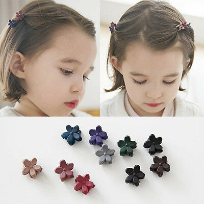 40Pcs Lots Baby Girls Kids Sweet Flower Mini Hair Claws Clips Clamps Hairpin New