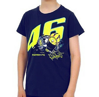VR46 Valentino Rossi MotoGP Junior Top - Navy