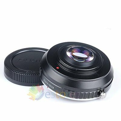 Focal Reducer Speed Booster Canon EF mount Lens to micro 4/3 M4/3 Adapter 【UK】