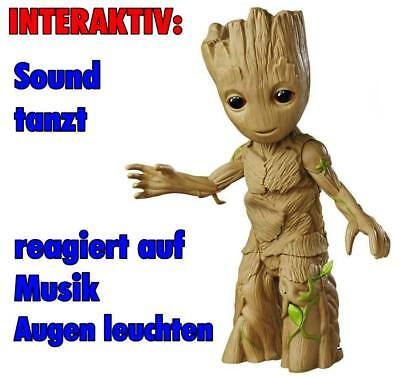 Guardians of the Galaxy Vol. 2 Dancing Baby Groot Life-Size Statue Figur Hasbro