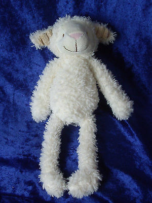 Beautiful Mothercare white cream Lucy Lamb Sheep Comforter Soft Toy plush Rare