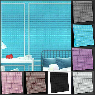 3D Removable Mosaic Home Room Decor Art Quote Wall Decal Stickers Bedroom Mural