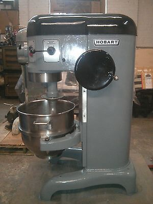 Hobart Mixer H 600 60 Quart. Single Phase Power. Complete Rebuild.excellent