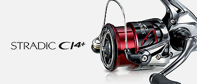 Shimano Stradic CI4+ FB Rolle Reel Angelrolle Stationärrolle Spinrolle