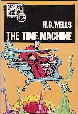 1974 HG Wells the Time Machine Pendulum Press Illustrated Now Age Book