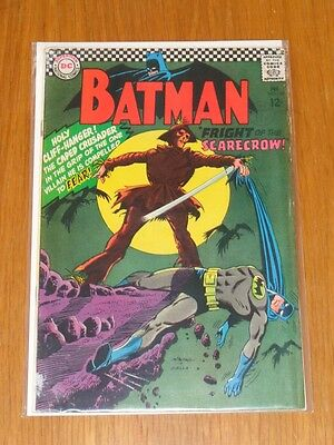 Batman #189 Vg- (3.5) Dc Comics 1St Scarecrow February 1967