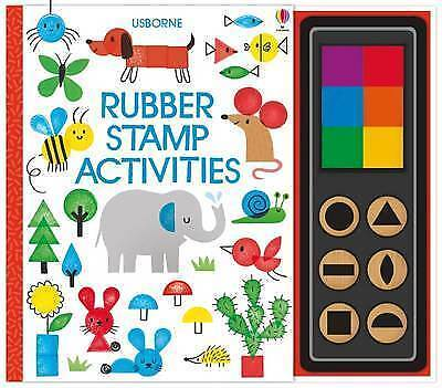 Rubber Stamp Activities by Fiona Watt (Spiral bound, 2017)