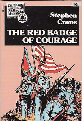 1973 Red Badge of Courage Stephen Crane Pendulum Press Illustrated Now Age Book