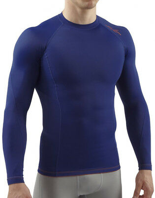 Sub Sports Elite RX Long Sleeve Mens Compression Top - Navy