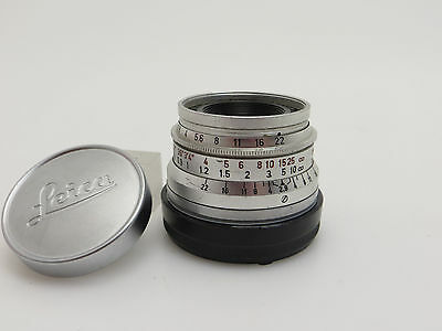 Leitz Leica Summaron M2 2,8 / 35 mm  Wetzlar Germany lq056