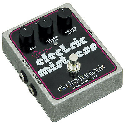 Electro Harmonix Stereo Electric Mistress Effects Pedal (NEW)