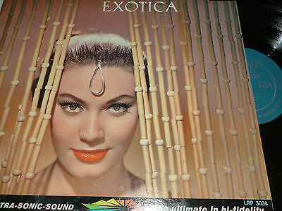 The Sounds of Martin Denny EXOTICA Vinyl LP LIBERTY LRP3034 10/58