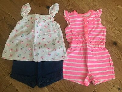 Baby Girls Outfit And Playsuit 18-24 Months ⭐99p⭐