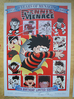 Dennis The Menace - Official 50th Birthday Print