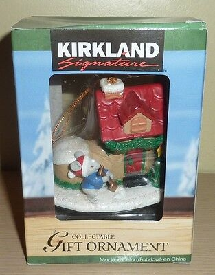 Kirkland Signature Collectible Ornament ~ Mouse with a Shoe House