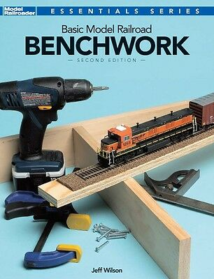 Kalmbach Book Basic Model Railroad Benchwork Second Edition