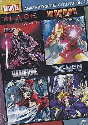 Marvel Anime: Complete TV Series Collection Volumes 1 2 3 4 Box / DVD Set NEW!