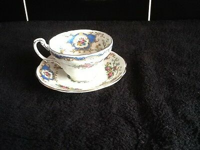 Beautiful Foley China Broadway Pattern Cup And Saucer No Reserve