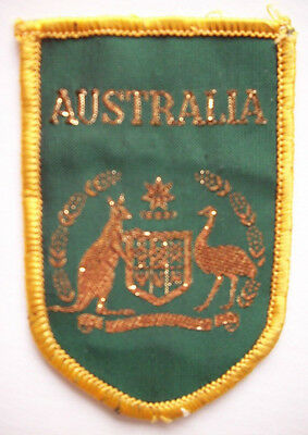 Australia embroidered patch