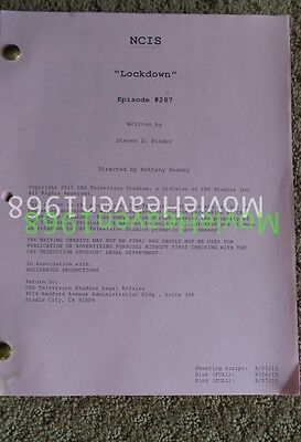 Ncis Tv Series Show Script Episode Lock Down Mark Harmon