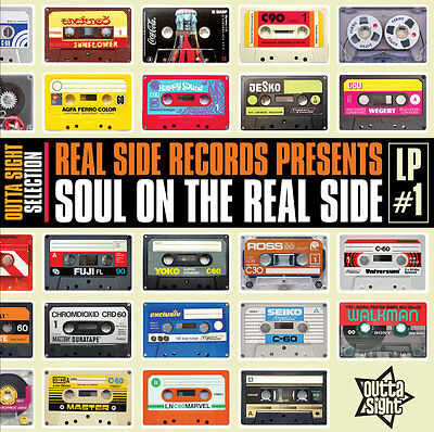 "Soul On The Real Side #1  ""10 Stunning Modern Room Masters""  Lp"