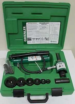 Greenlee 7306Sb Hydraulic Knockout Punch Set - New Open Box