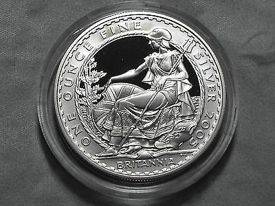 2005 Royal Mint BRITANNIA 2 Pound Silver Proof Coin