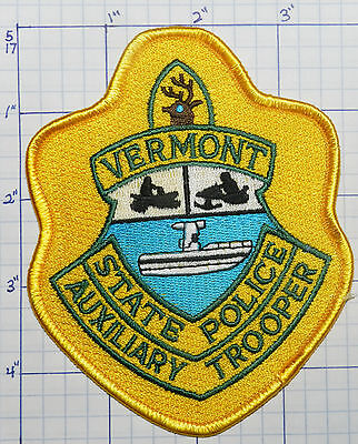 Vermont State Police Dept Auxiliary Trooper Patch