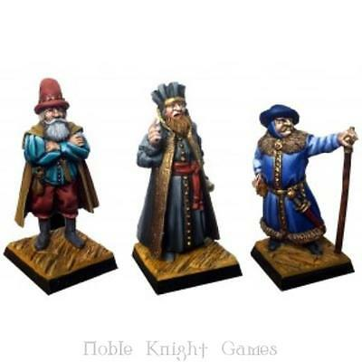 Fenryll Fantasy Mini Resin 28mm Notables, The Pack MINT
