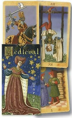 Medieval Tarot by Lo Scarabeo (English) Paperback Book Free Shipping!