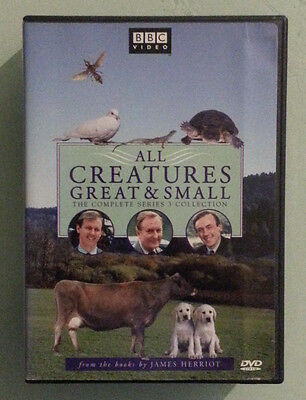 bbc ALL CREATURES GREAT & SMALL the complete series 3 collection  DVD