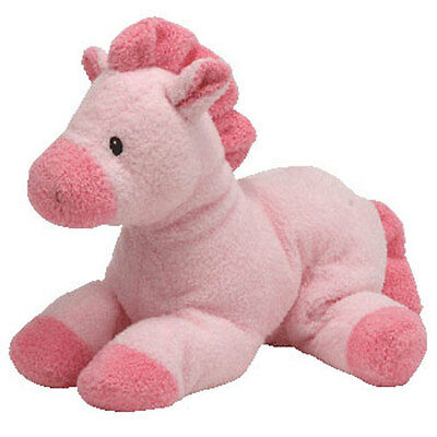 Baby TY - MY BABY HORSEY PINK the Horse (9 inch) - MWMTs BabyTy Soft Toy