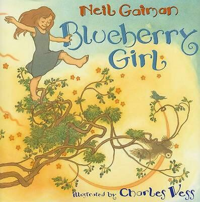 Blueberry Girl by Neil Gaiman (English) Hardcover Book Free Shipping!