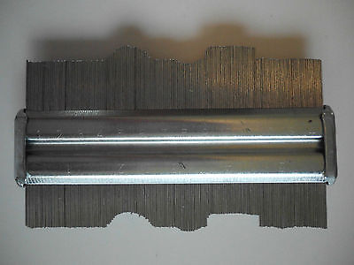 Contour Gauge 150Mm Fine Steel Pins -  Metric And Imperial Guage - New